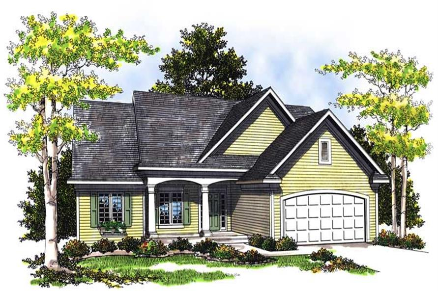 Main image for house plan # 13552
