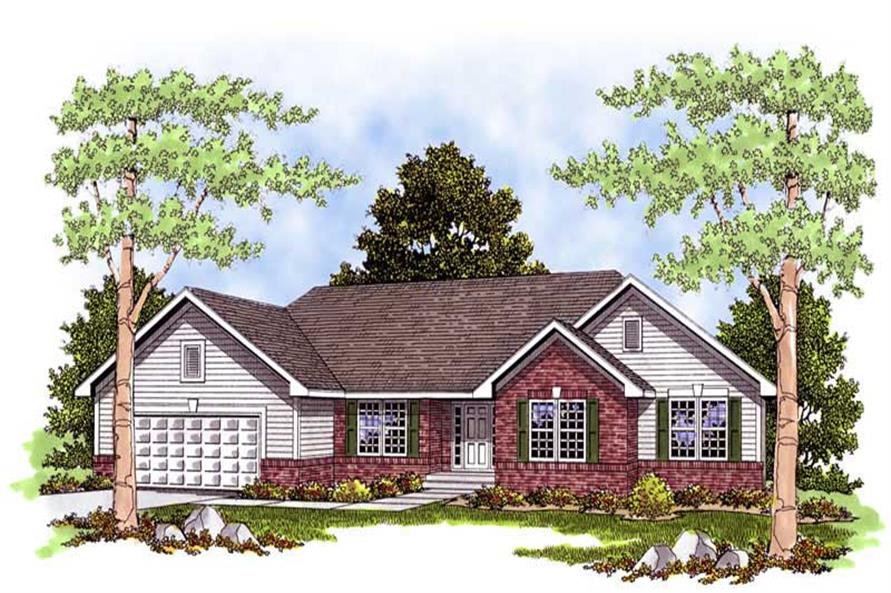 Main image for house plan # 13551