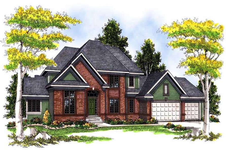 Main image for house plan # 13549