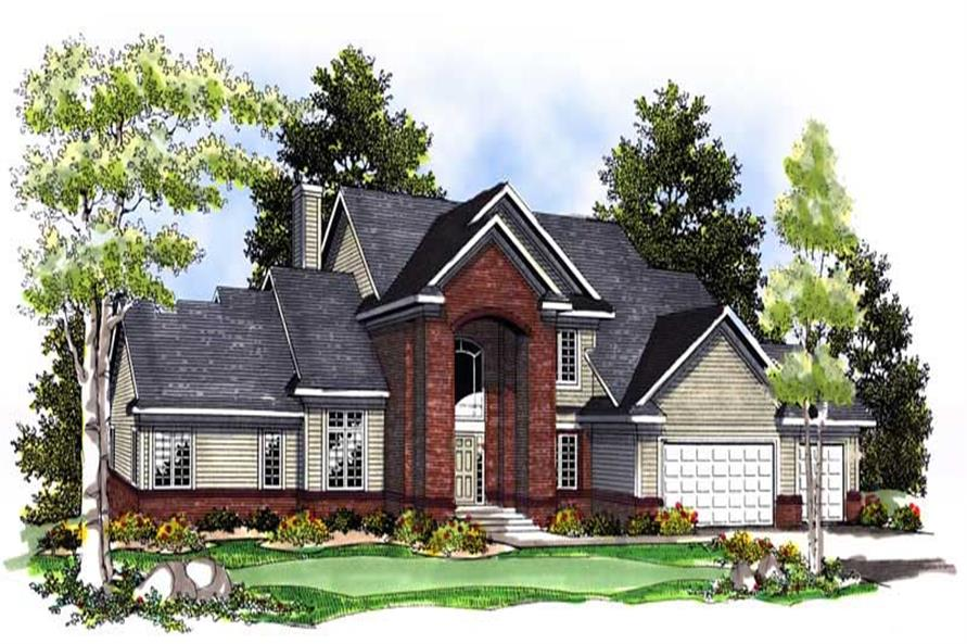 Main image for house plan # 13598
