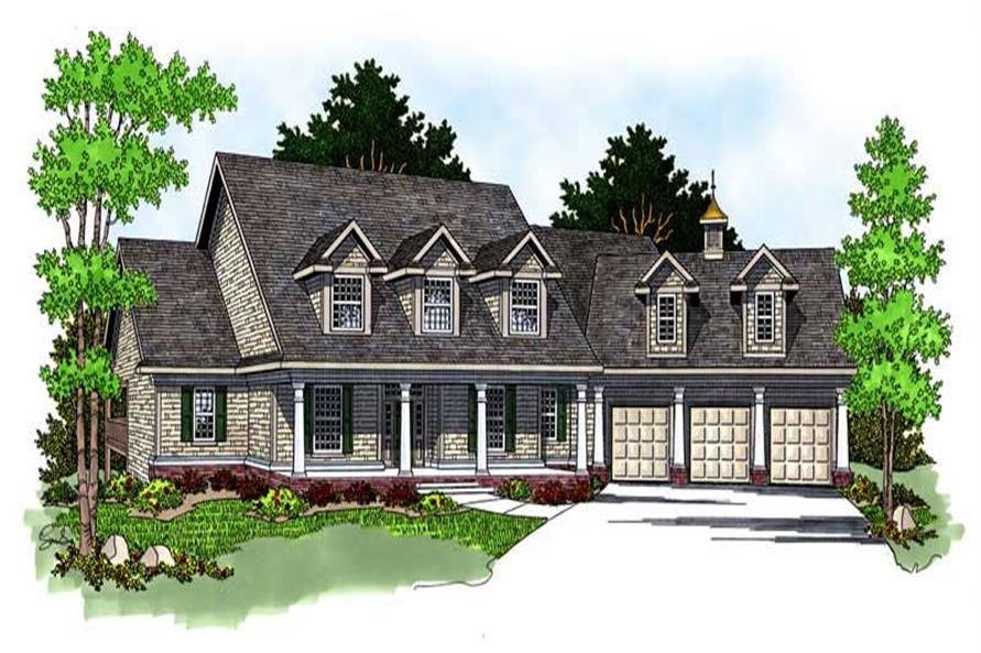 Main image for house plan # 13777