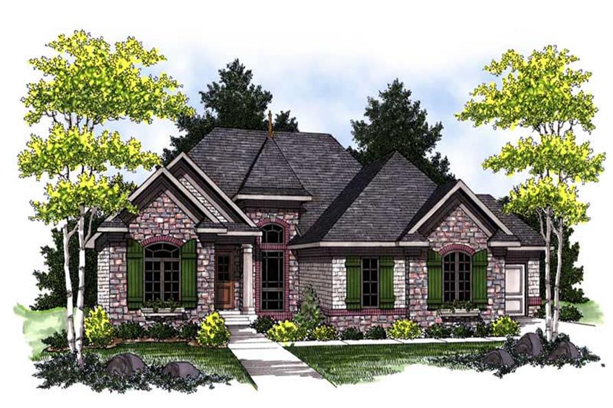 Main image for house plan # 14044