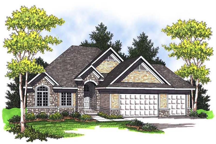 Main image for house plan # 14031