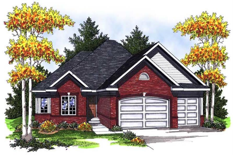 Main image for house plan # 14038