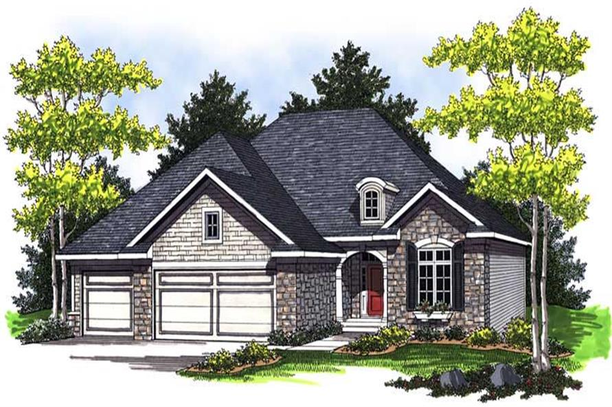 Main image for house plan # 14040