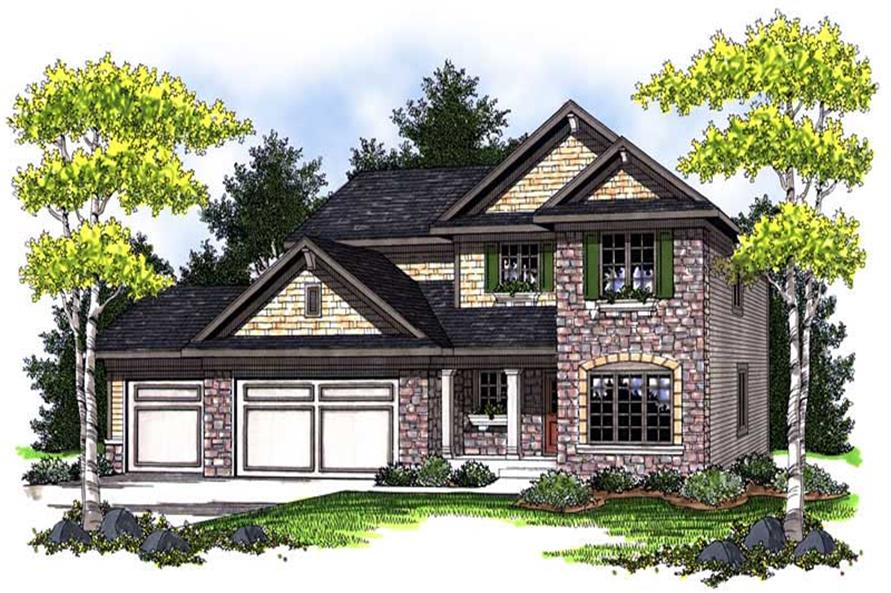 Main image for house plan # 14046