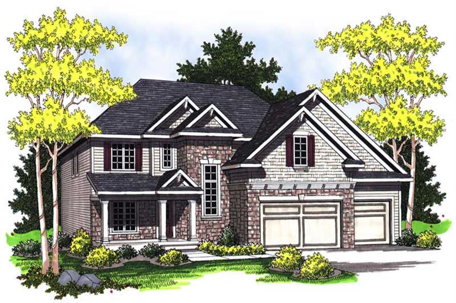 Main image for house plan # 14049