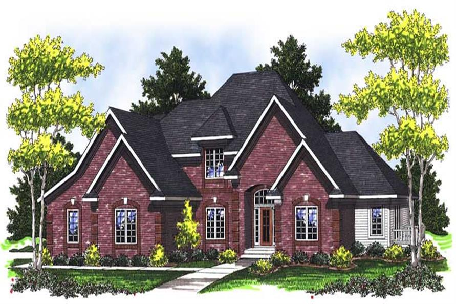Main image for house plan # 14051