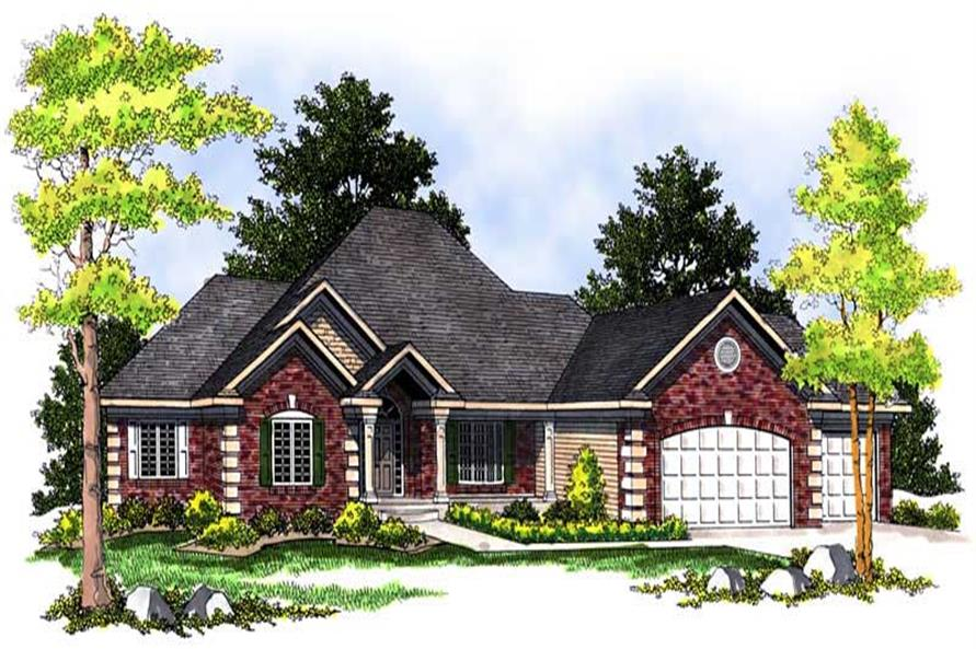 Main image for house plan # 13695