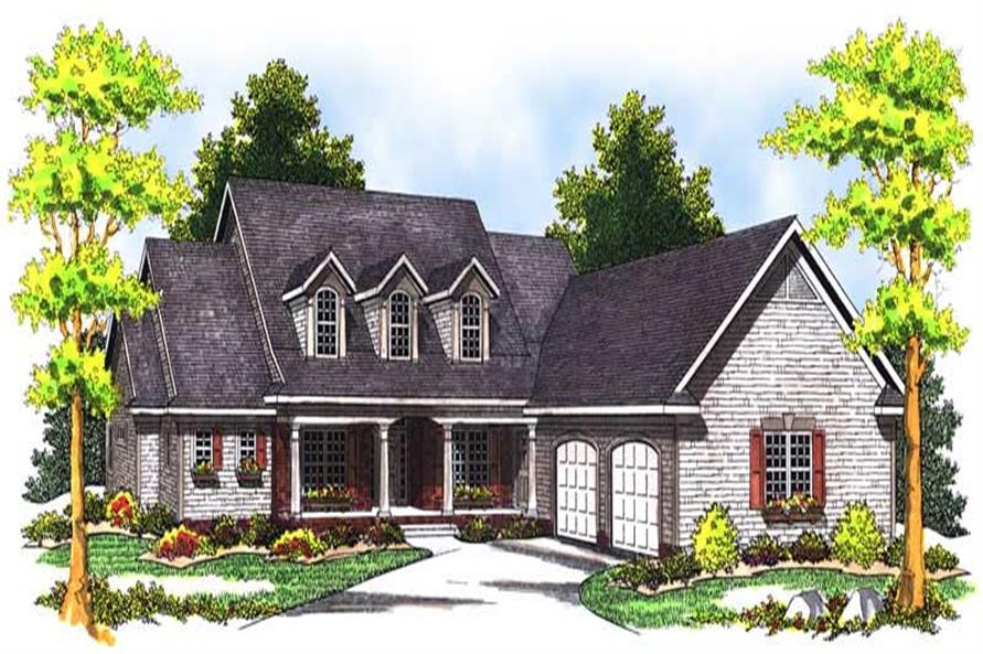 Main image for house plan # 13671