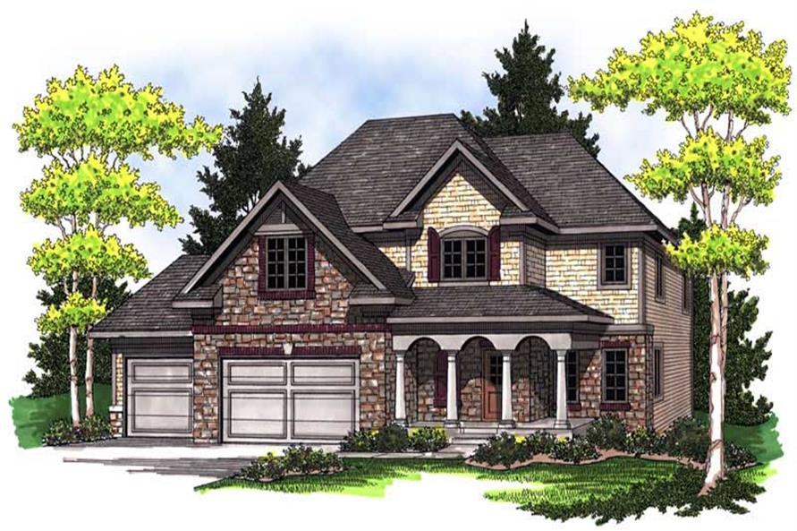 Main image for house plan # 14042