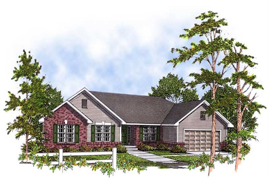 Main image for house plan # 13929