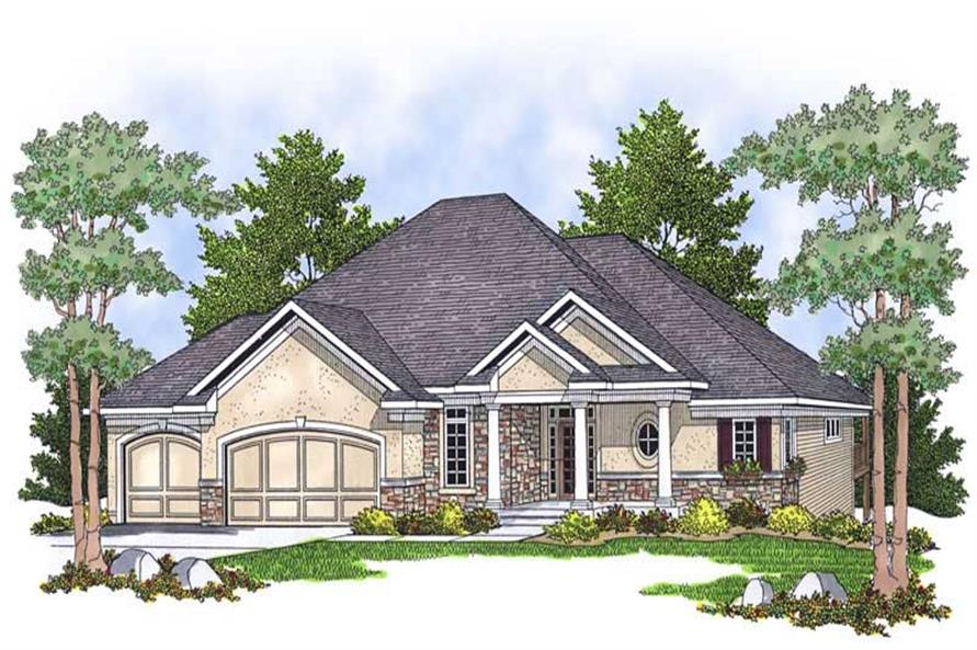 Main image for house plan # 13815