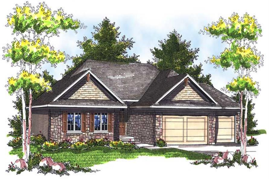 Main image for house plan # 14002
