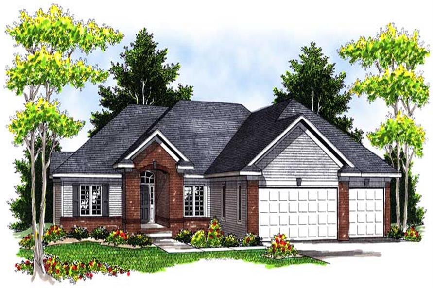 Main image for house plan # 13941