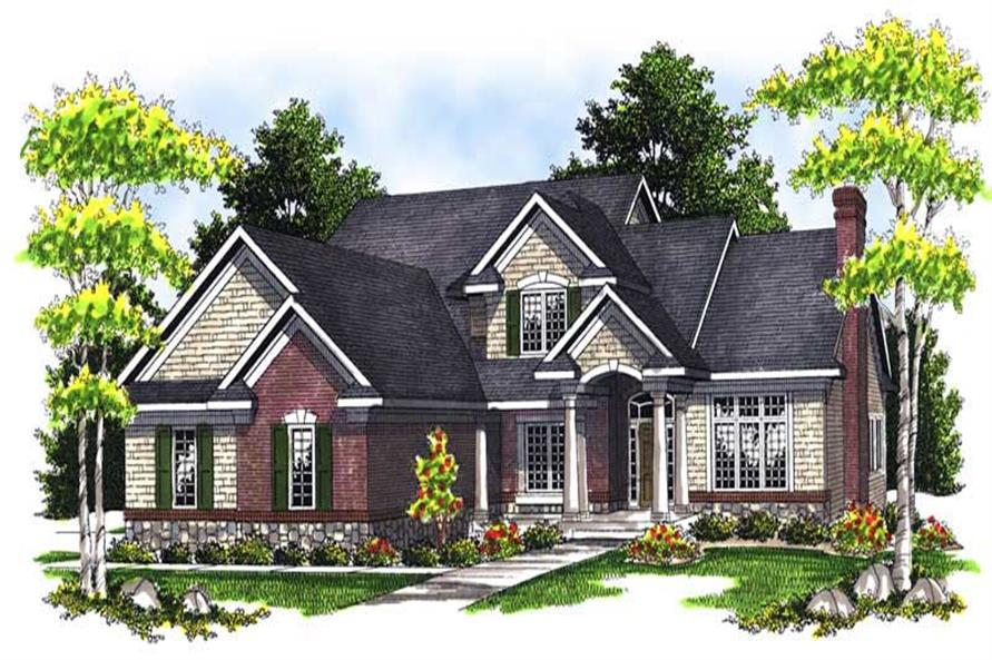 Main image for house plan # 13950