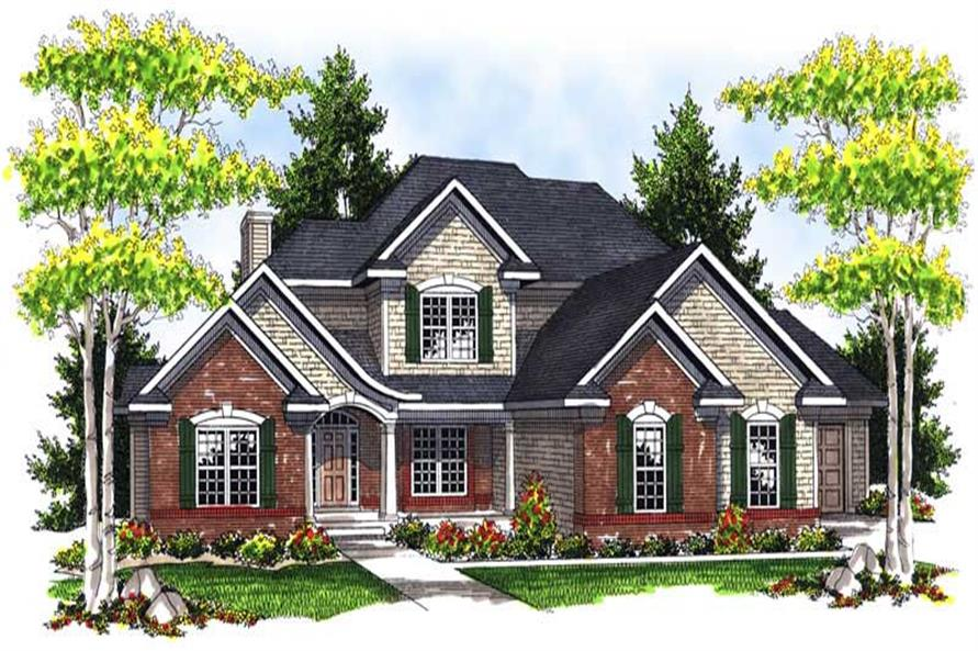 Main image for house plan # 13952