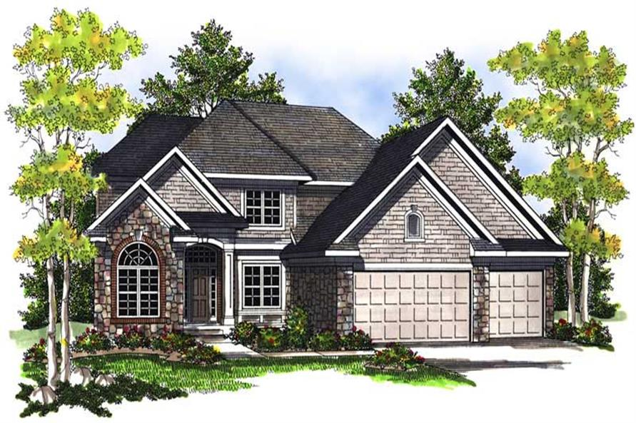 Main image for house plan # 13995