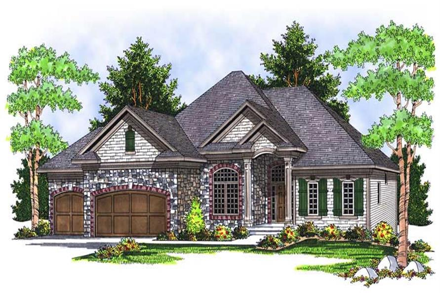 Main image for house plan # 13927