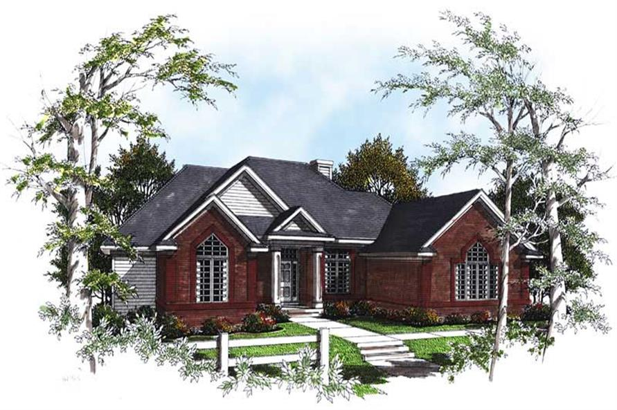 Main image for house plan # 13347