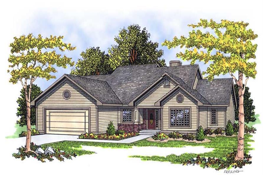 Main image for house plan # 13403