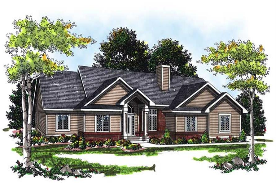 Main image for house plan # 13404