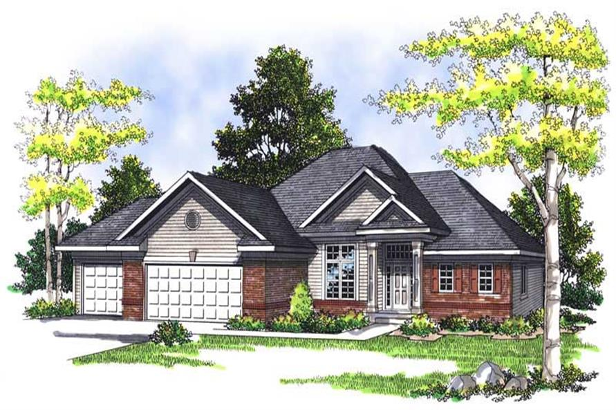 Main image for house plan # 13527