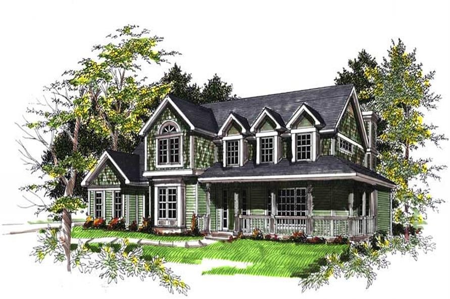 Main image for house plan # 13346