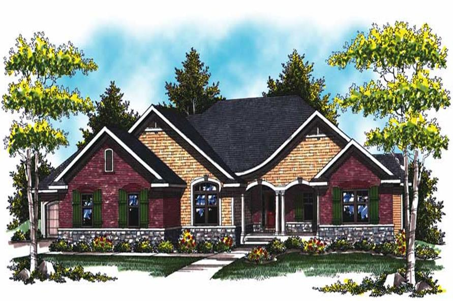 Main image for house plan # 17014