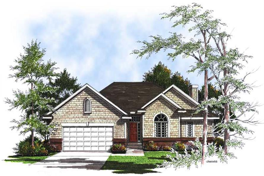 Main image for house plan # 13358