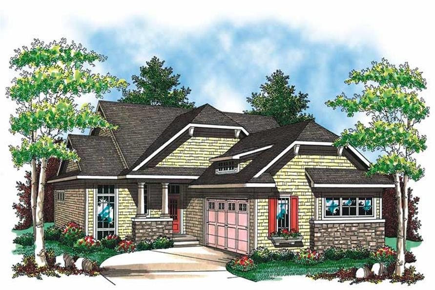 Main image for house plan # 19541