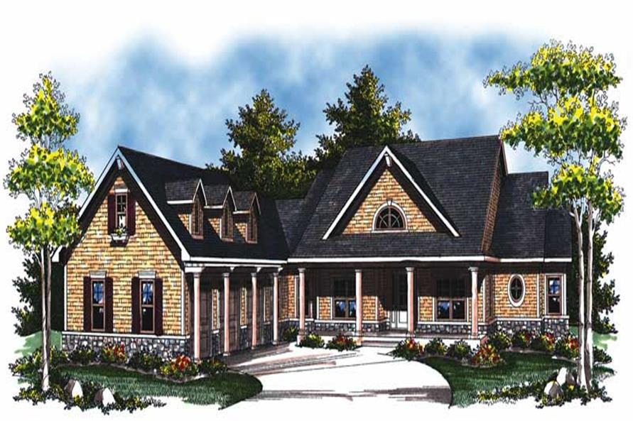 Main image for house plan # 17018