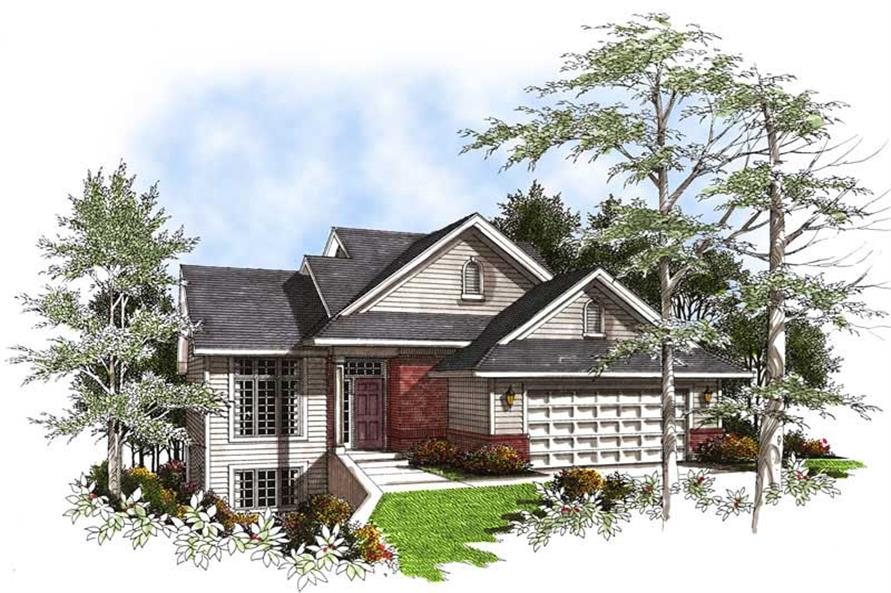 Main image for house plan # 13355