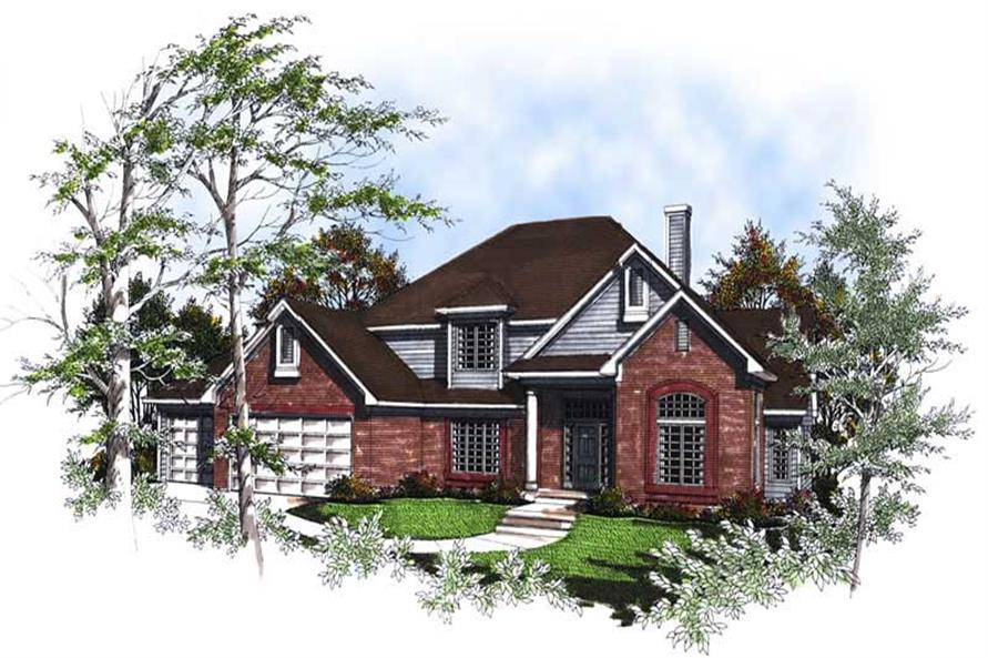 Main image for house plan # 13353