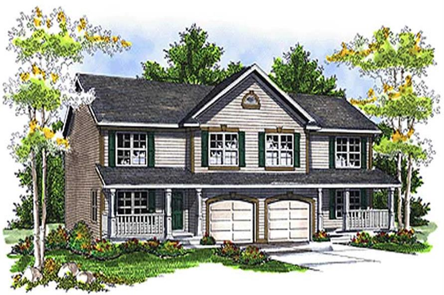 Main image for house plan # 17222