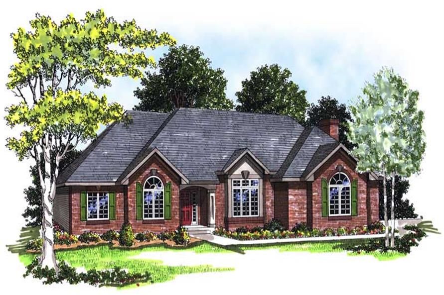 Main image for house plan # 13334