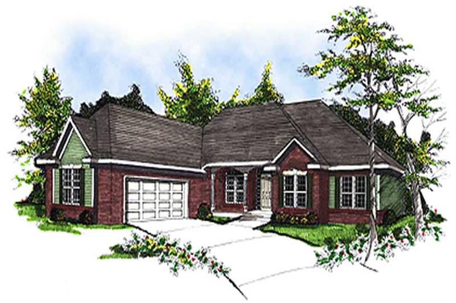 Main image for house plan # 17093