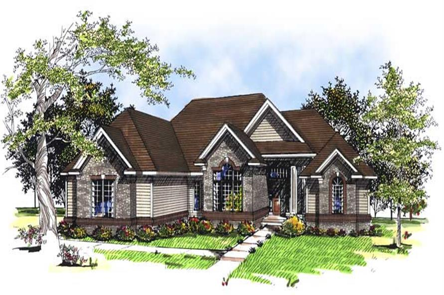 Main image for house plan # 13349