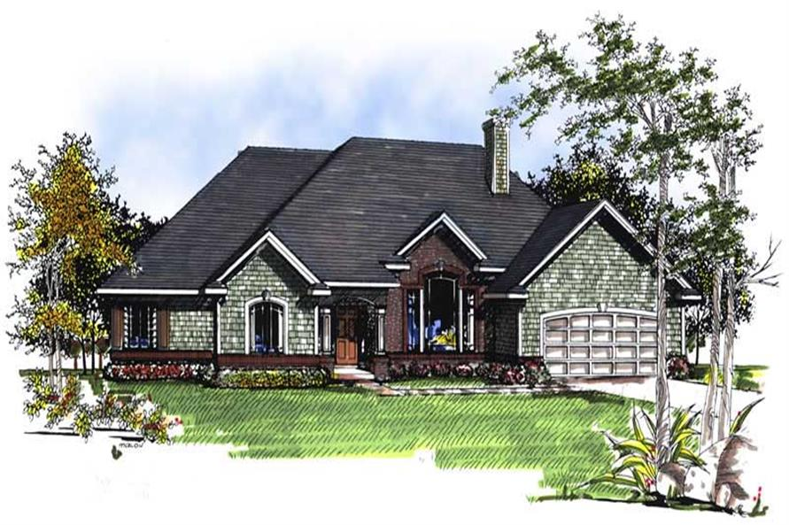 Main image for house plan # 13348