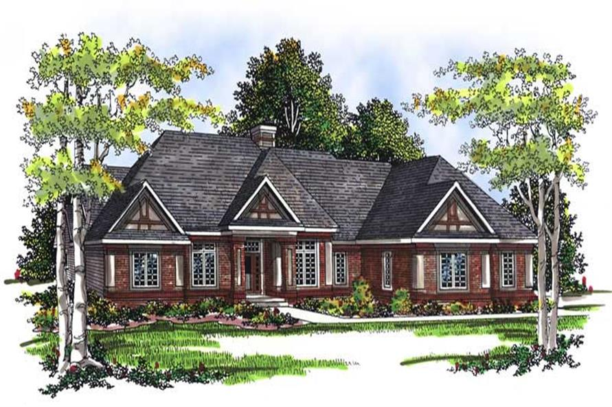 Main image for house plan # 13434