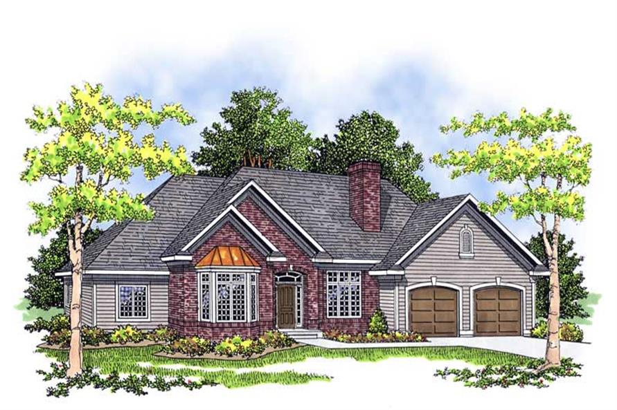 Main image for house plan # 17548