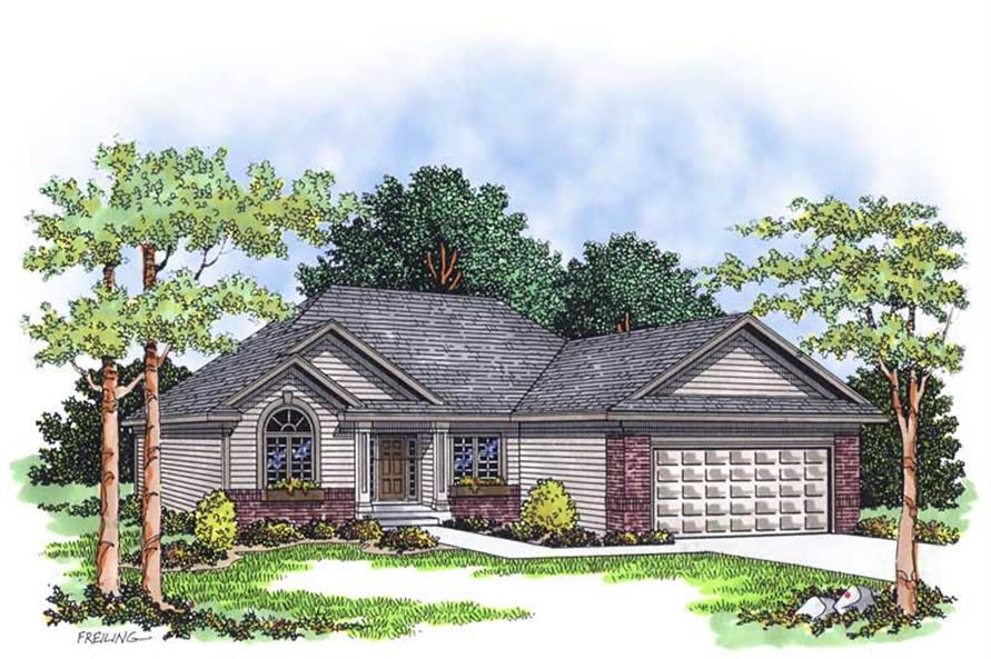 Main image for house plan # 13415