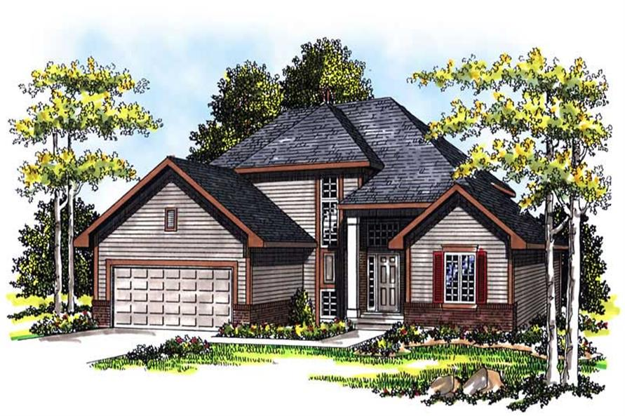 Main image for house plan # 13416