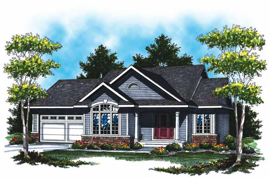 Main image for house plan # 17547