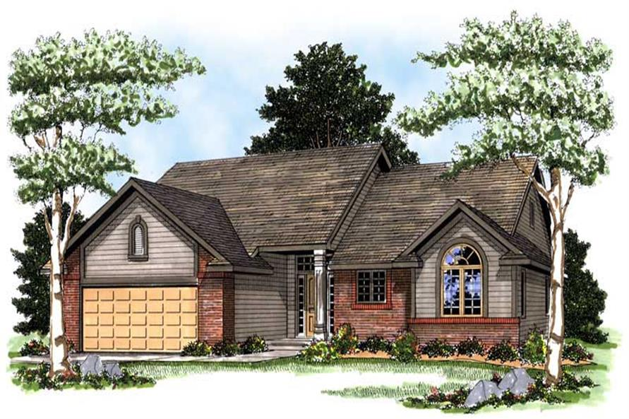Main image for house plan # 13305