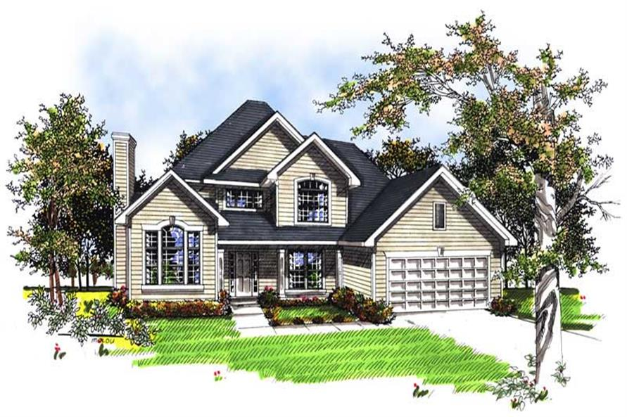 Main image for house plan # 13354
