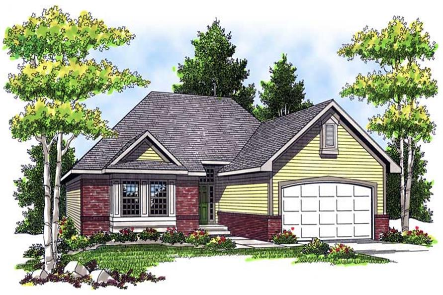 Main image for house plan # 13344