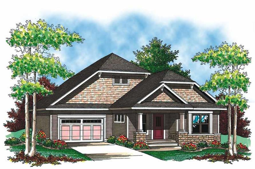 Main image for house plan # 19543
