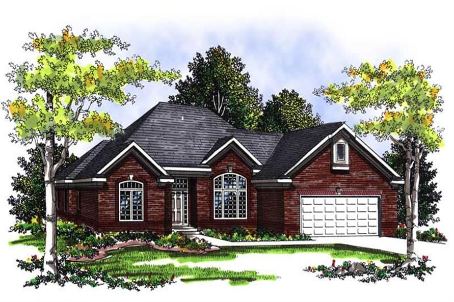 Main image for house plan # 13444