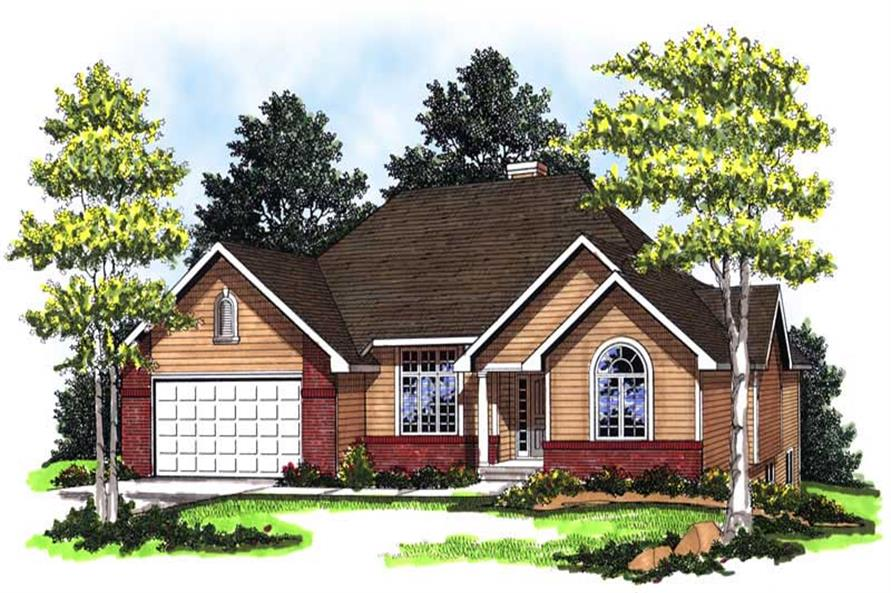 Main image for house plan # 13309
